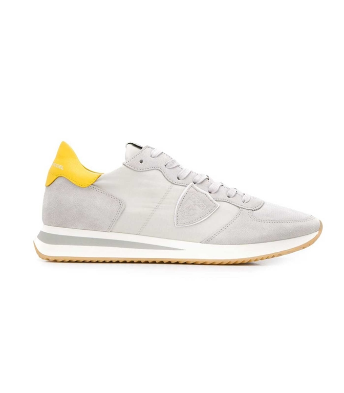 Philippe Model Paris - Scarpe - Sneakers - trpx mondial - gris jaune