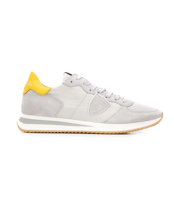 Philippe Model Paris - Scarpe - Sneakers - trpx mondial - gris jaune