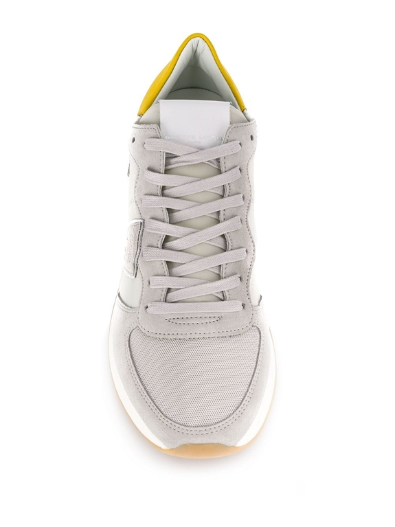 Philippe Model Paris - Scarpe - Sneakers - trpx mondial - gris jaune 1