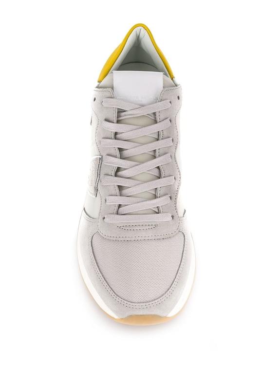 Philippe Model - Scarpe - Sneakers - trpx mondial - gris jaune 1