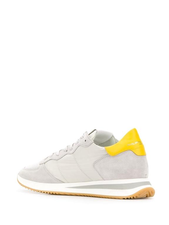 Philippe Model - Scarpe - Sneakers - trpx mondial - gris jaune 2