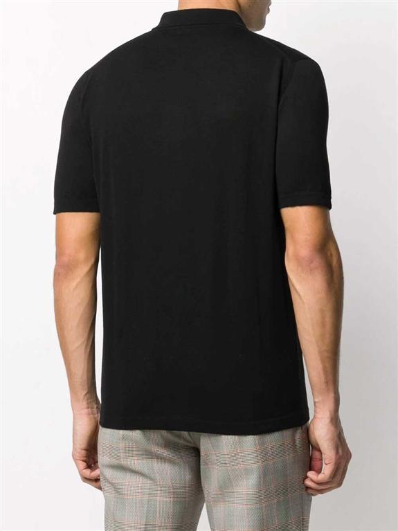 Roberto Collina - Camicie - polo nera 1