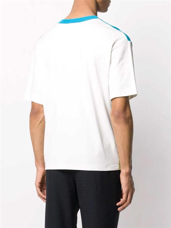 Roberto Collina - Maglie - t-shirt cotone color-block 1