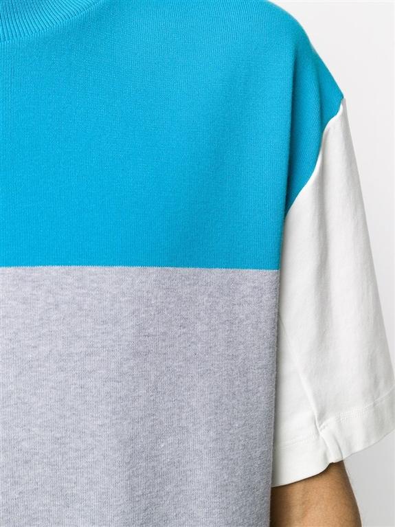 Roberto Collina - Maglie - t-shirt cotone color-block 2