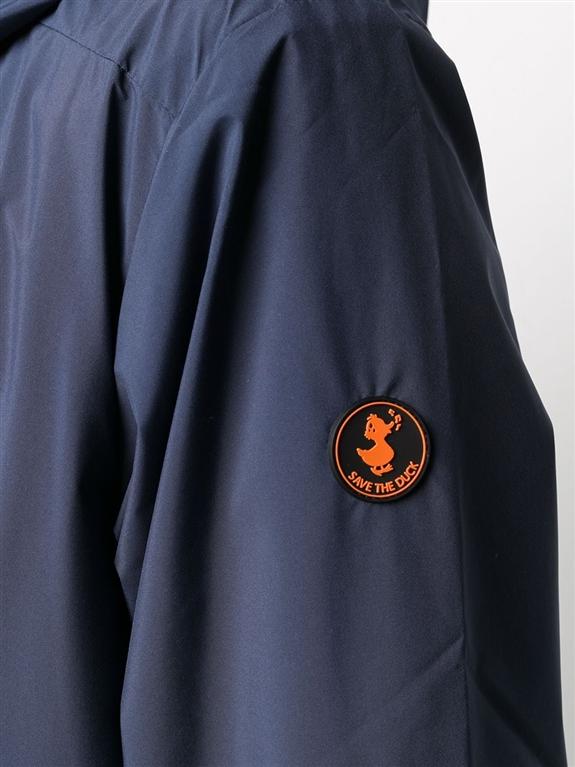 Save The Duck - Giubbotti - giacca con cappuccio maty blu 1