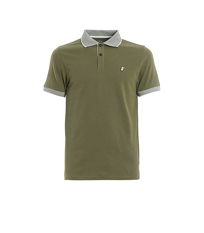 Save The Duck - Polo - POLO MANICA CORTA VERDE