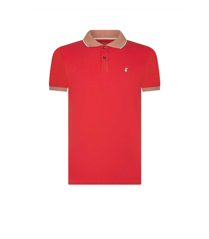 Save The Duck - Polo - POLO MANICA CORTA ROSSA