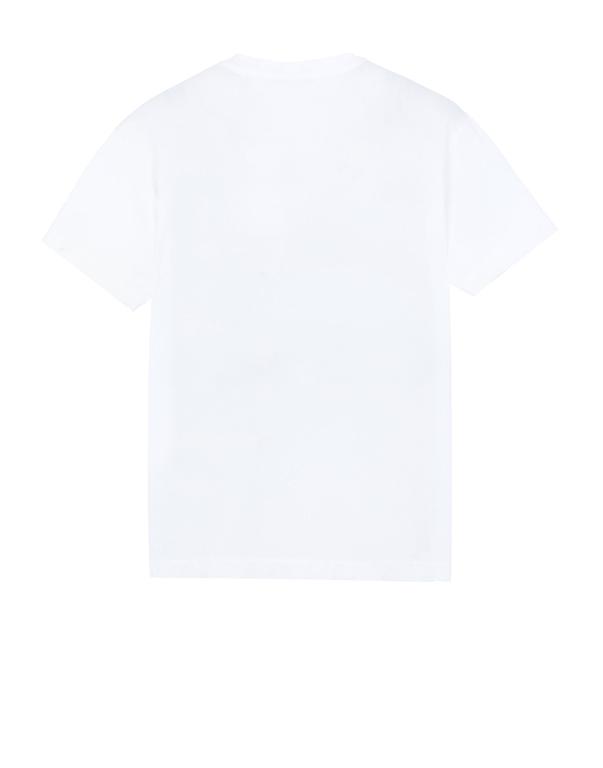 Stone Island - T-Shirt - t-shirt bianca 1