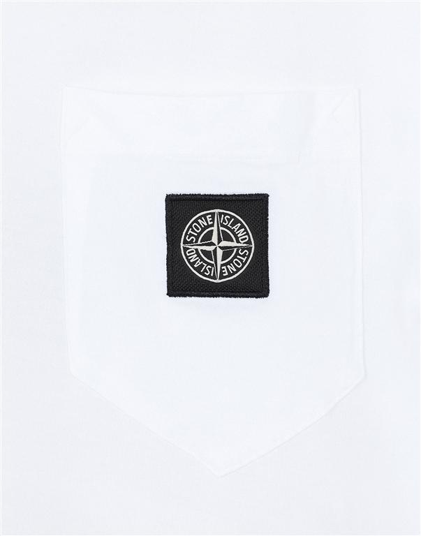 Stone Island - T-Shirt - t-shirt bianca 2