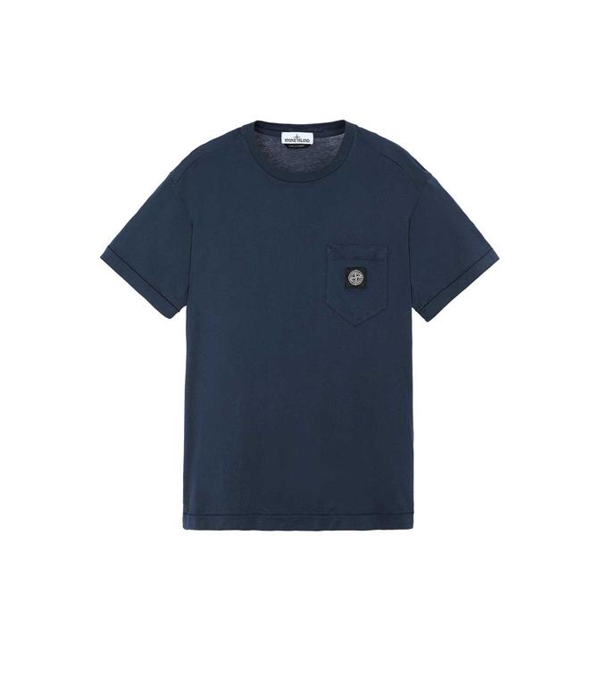 Stone Island - T-Shirt - T-SHIRT BLU