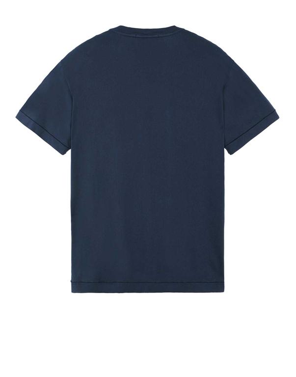 Stone Island - T-Shirt - t-shirt blu 1
