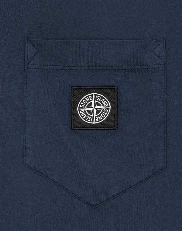 Stone Island - T-Shirt - t-shirt blu 2