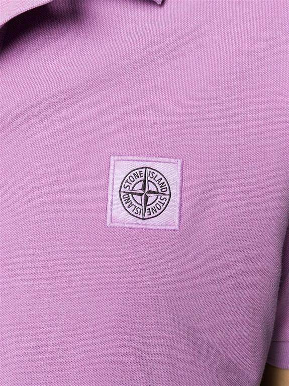 Stone Island - Polo - polo manica corta rosa quarzo 1