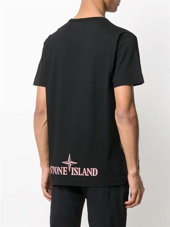 Stone Island - T-Shirt - desert camo nero 1