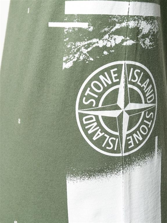 Stone Island - T-Shirt - drone one 1
