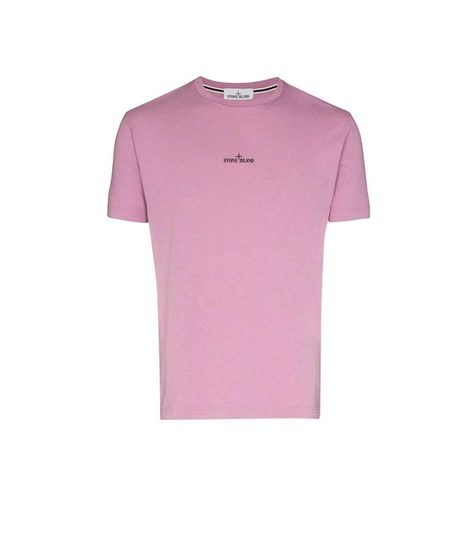 Stone Island - T-Shirt - t-shirt drone two rosa