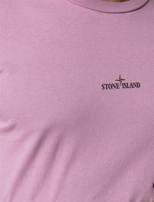 Stone Island - T-Shirt - t-shirt drone two rosa 2