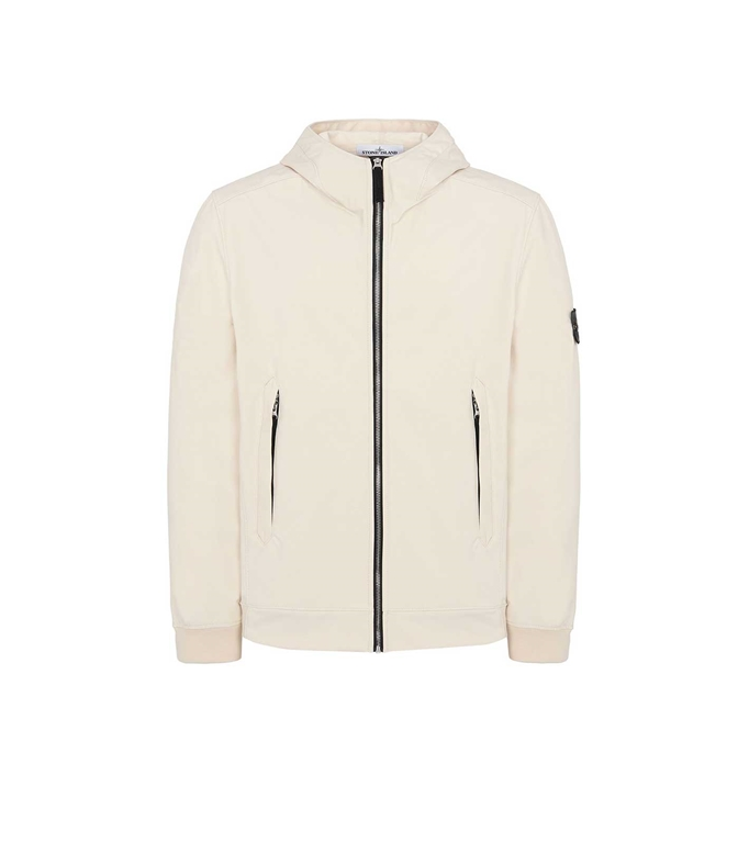 Stone Island - Giubbotti - LIGHT SOFT SHELL-R - BEIGE