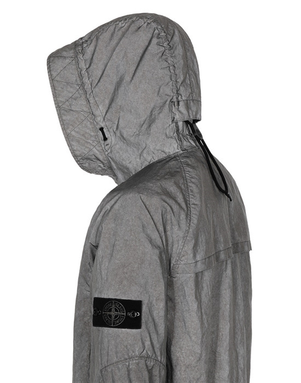 Stone Island - Giubbotti - plated rfabric research and treatment 1