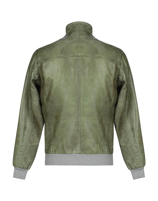 The Jack Leathers - Giubbotti - giubbino ru44-twohours verde 1