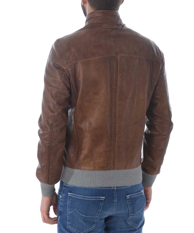 The Jack Leathers - Giubbotti - giubbino ru44-twohours marrone 1
