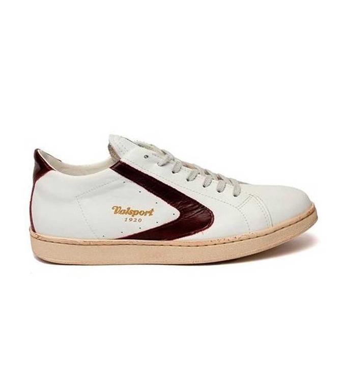 Valsport - Scarpe - Sneakers - TOURNAMENT NAPPA BIANCO/BORDEAUX