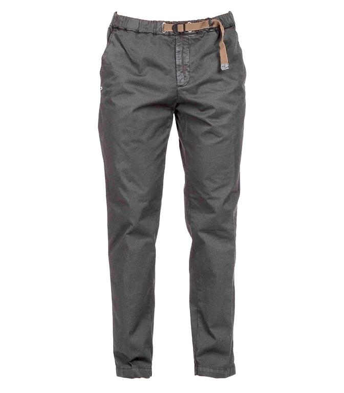 White Sand - Pantaloni - pantalone lungo grigio scuro