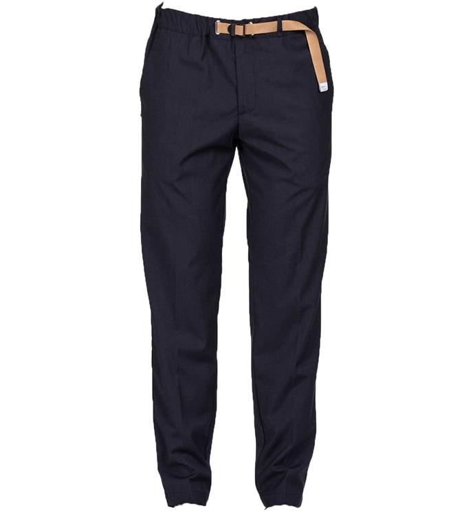 White Sand - Pantaloni - pantalone lungo blu