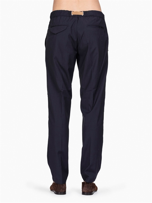 White Sand - Pantaloni - pantalone lungo blu 1