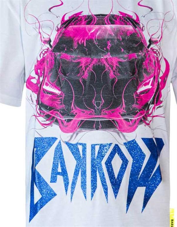Barrow - T-Shirt - t-shirt jersey girocollo bianca 2