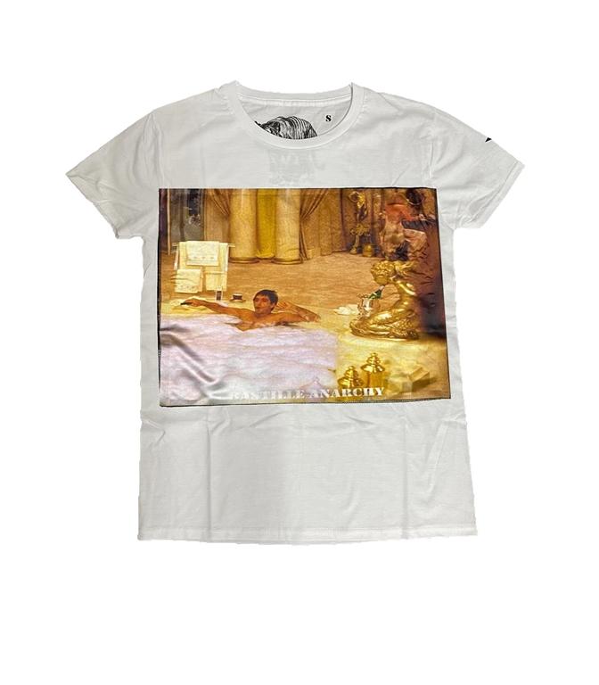 Bastille - T-Shirt - TSHIRT BIANCA SCARFACE BAIN