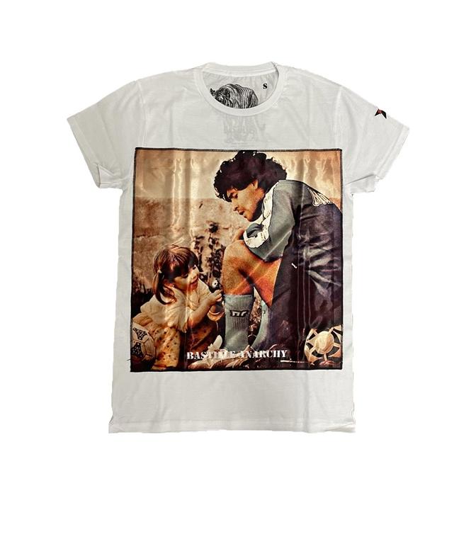 Bastille - T-Shirt - TSHIRT BIANCA MARADONA CHILD