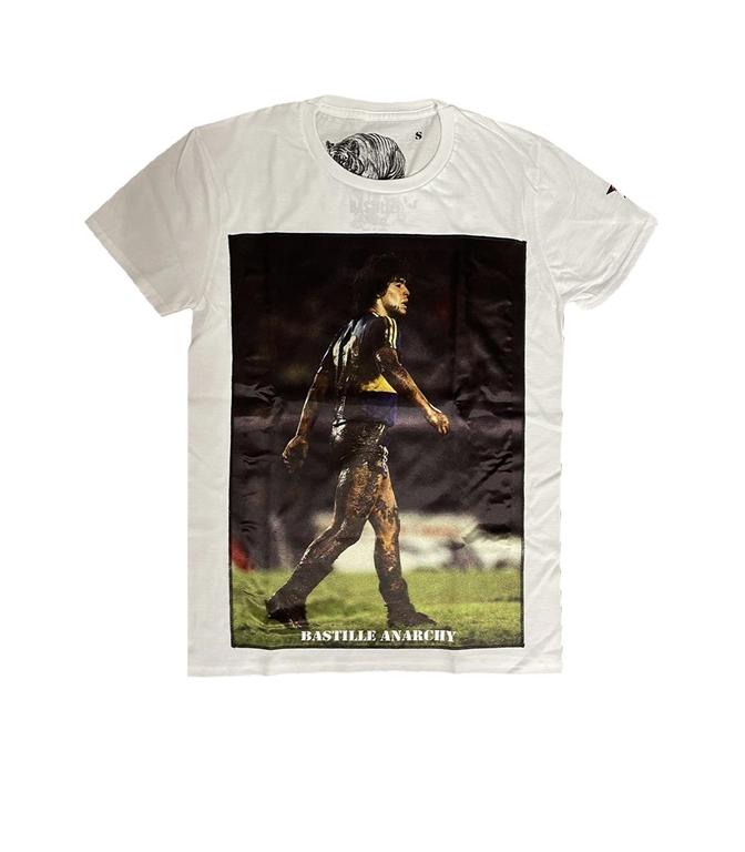 Bastille - T-Shirt - TSHIRT BIANCA MARADONA FANGO