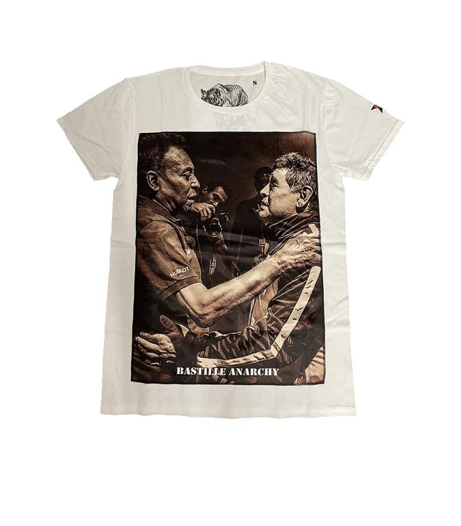 Bastille - T-Shirt - TSHIRT BIANCA PELE' MARADONA