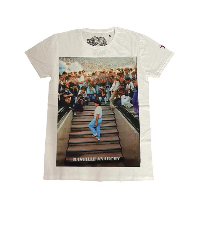 Bastille - T-Shirt - TSHIRT BIANCA MARADONA