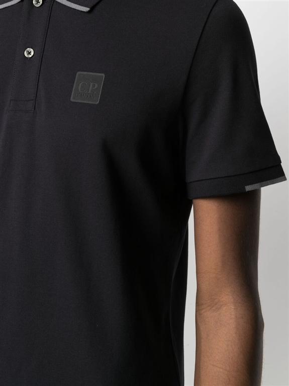 C.P. COMPANY - Polo - polo short sleeve nera 2