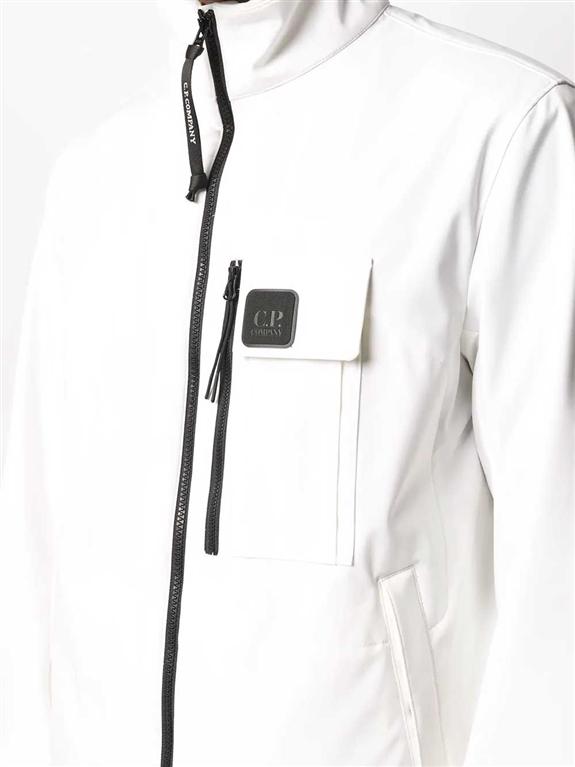 C.P. COMPANY - Giubbotti - giacca sportiva bianca 2