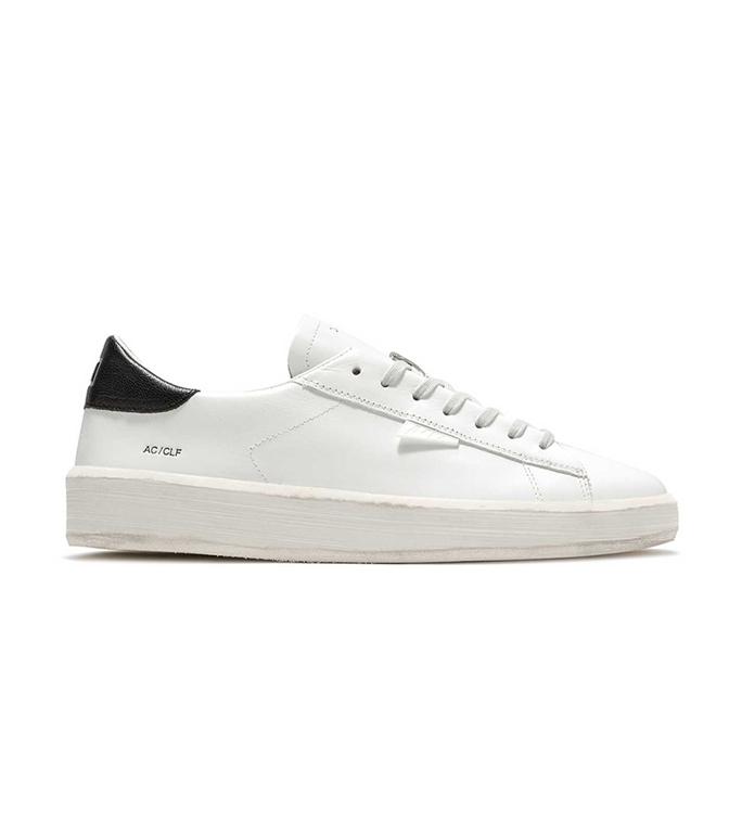 D.A.T.E. - Scarpe - Sneakers - ACE CALF BIANCA-NERA
