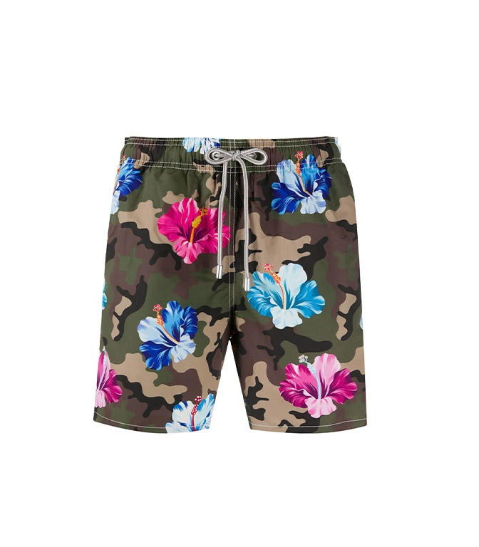 Mc2 Saint Barth - Costumi - GUSTAVIA FLOWER CAMO