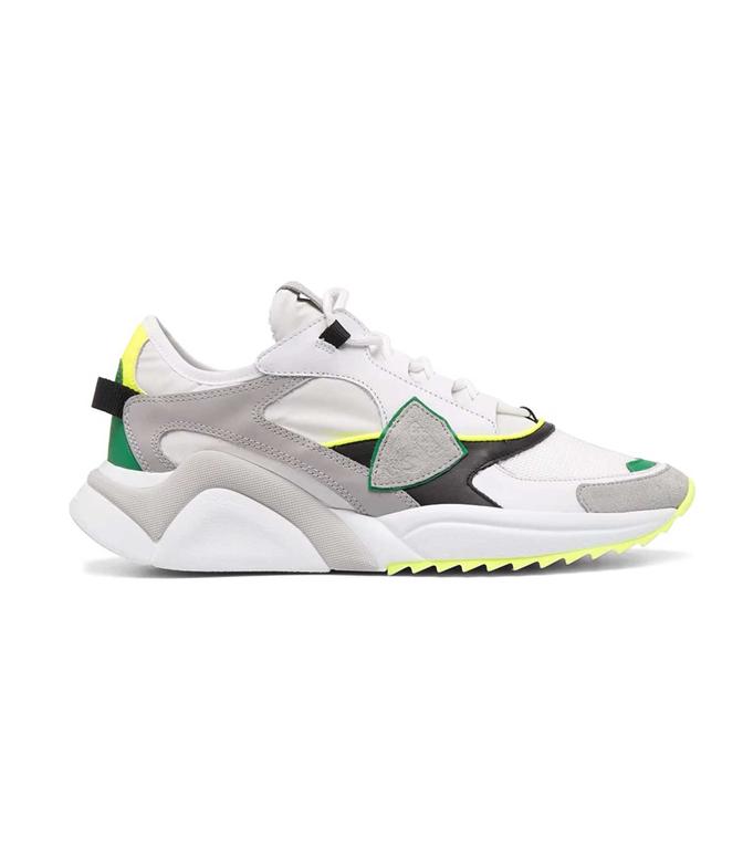 Philippe Model Paris - Scarpe - Sneakers - MONDIAL NEON BIANCA GIALLA