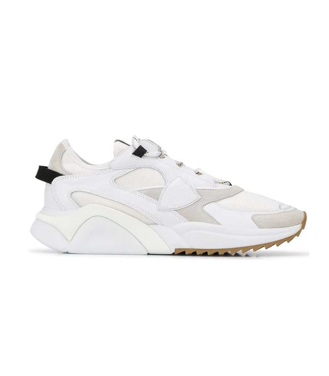 Philippe Model Paris - Scarpe - Sneakers - LOW MONDIAL RESEAU BIANCA