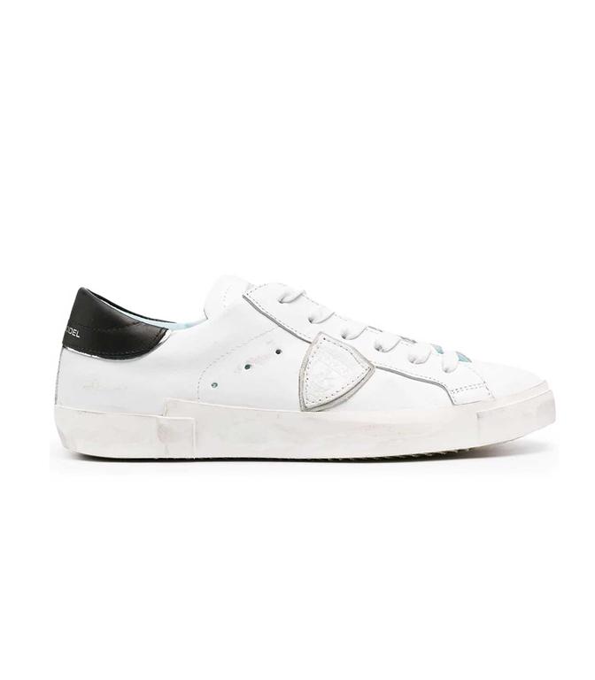 Philippe Model Paris - Scarpe - Sneakers - LOW VEAU BIANCA NERA