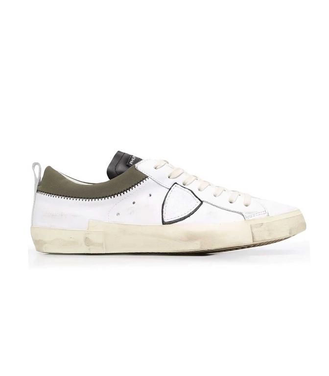 Philippe Model Paris - Scarpe - Sneakers - LOW V COLLIER BIANCO VERDE