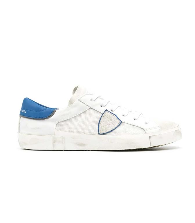 Philippe Model Paris - Scarpe - Sneakers - VEAU RASEAU BIANCA BLU