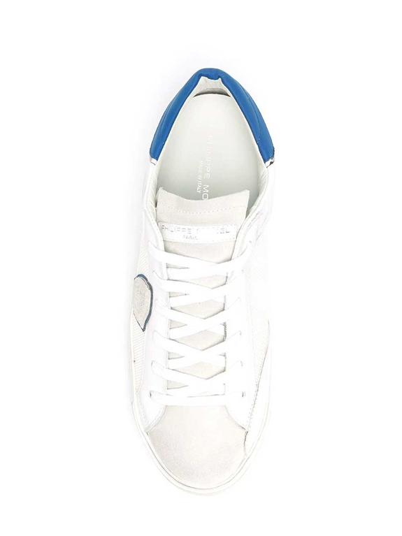 Philippe Model Paris - Scarpe - Sneakers - veau raseau bianca blu 1
