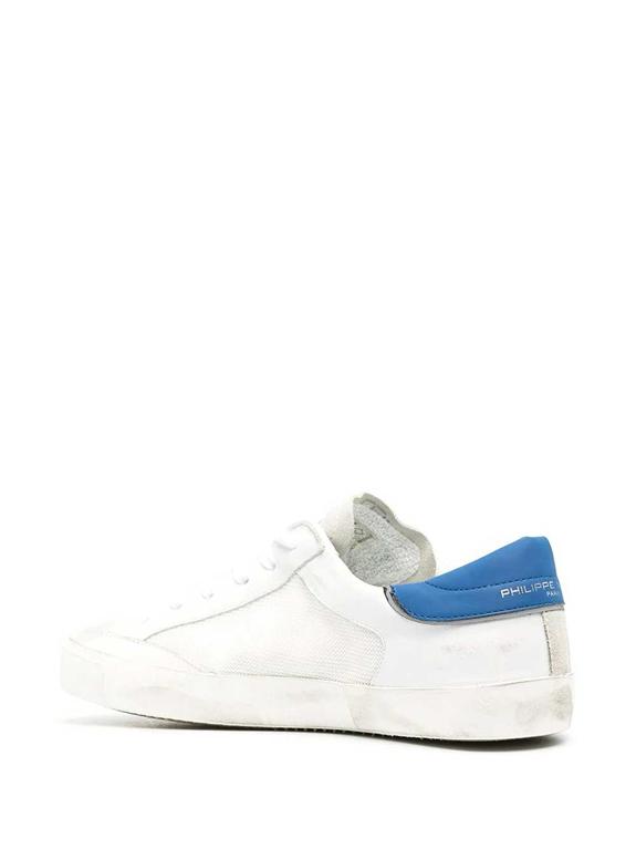 Philippe Model Paris - Scarpe - Sneakers - veau raseau bianca blu 2