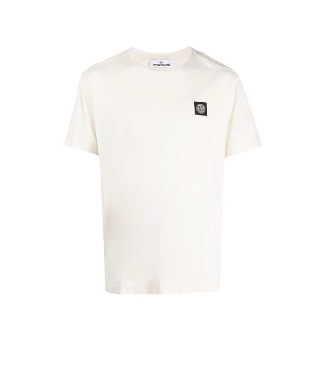 Stone Island - T-Shirt - TSHIRT JERSEY BIANCA