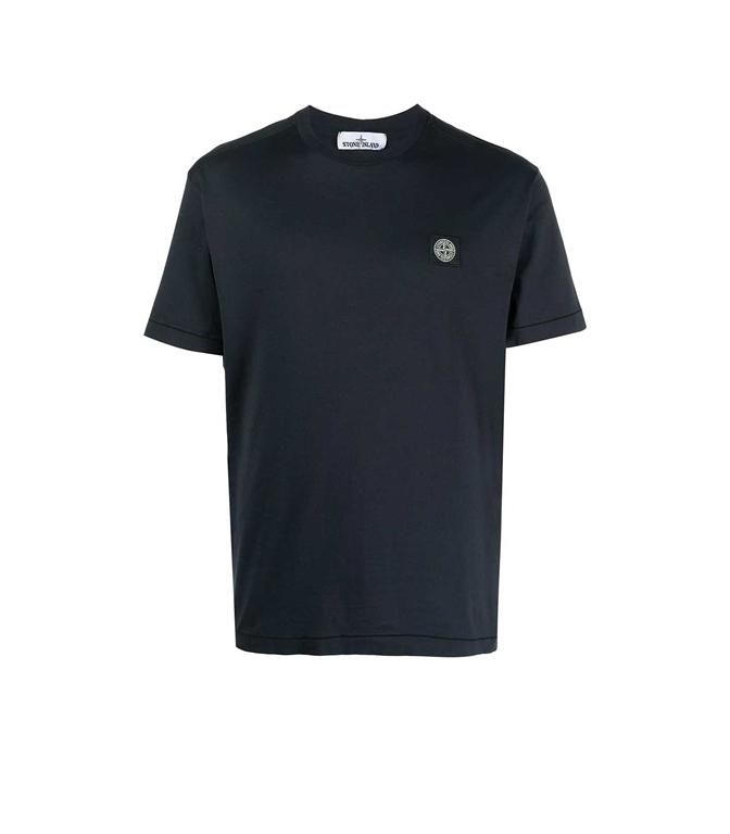 Stone Island - T-Shirt - TSHIRT JERSEY BLU