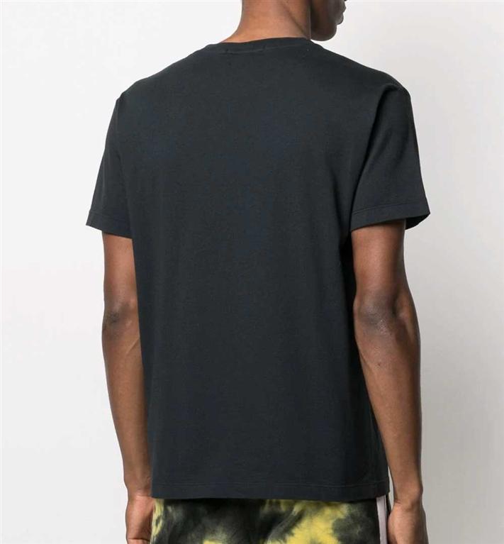 Stone Island - T-Shirt - tshirt small logo one blu 1