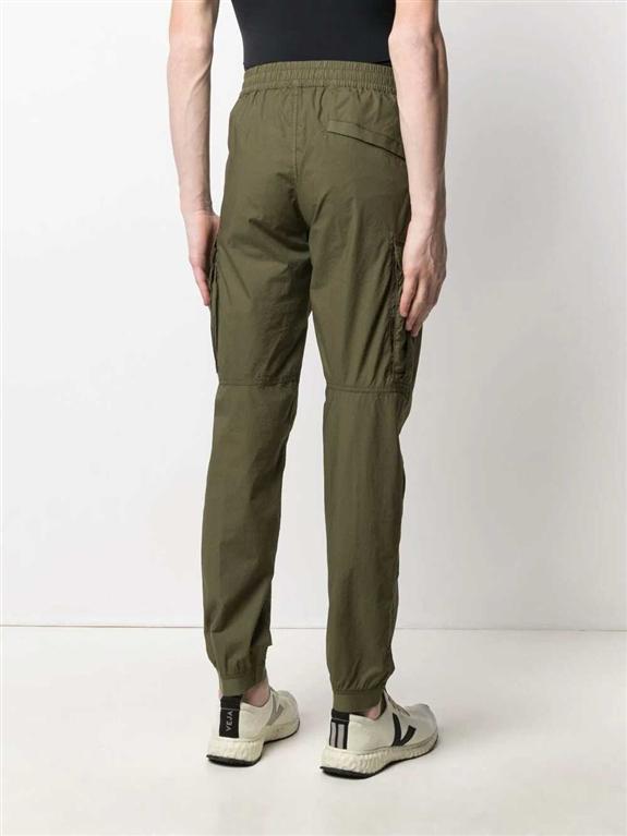 Stone Island - Pantaloni - pantalone cargo verde oliva 2
